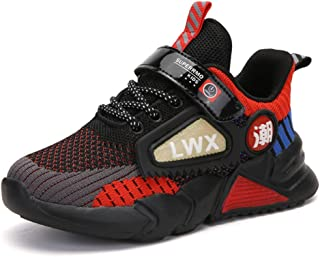 Baskets Randonnée Enfants Respirant Garcon Chaussures de Course Antidérapantes Fille Mode Légers Running Sneakers 27-38