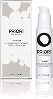 Priori Illumination Treatment fx320 for Women and Men, Natural Brightening Fragrance Free Face Serum with Turmeric, Antioxidants | Dark Spots Corrector for Glowing Skin | Clean Beauty - 1oz (30ml)