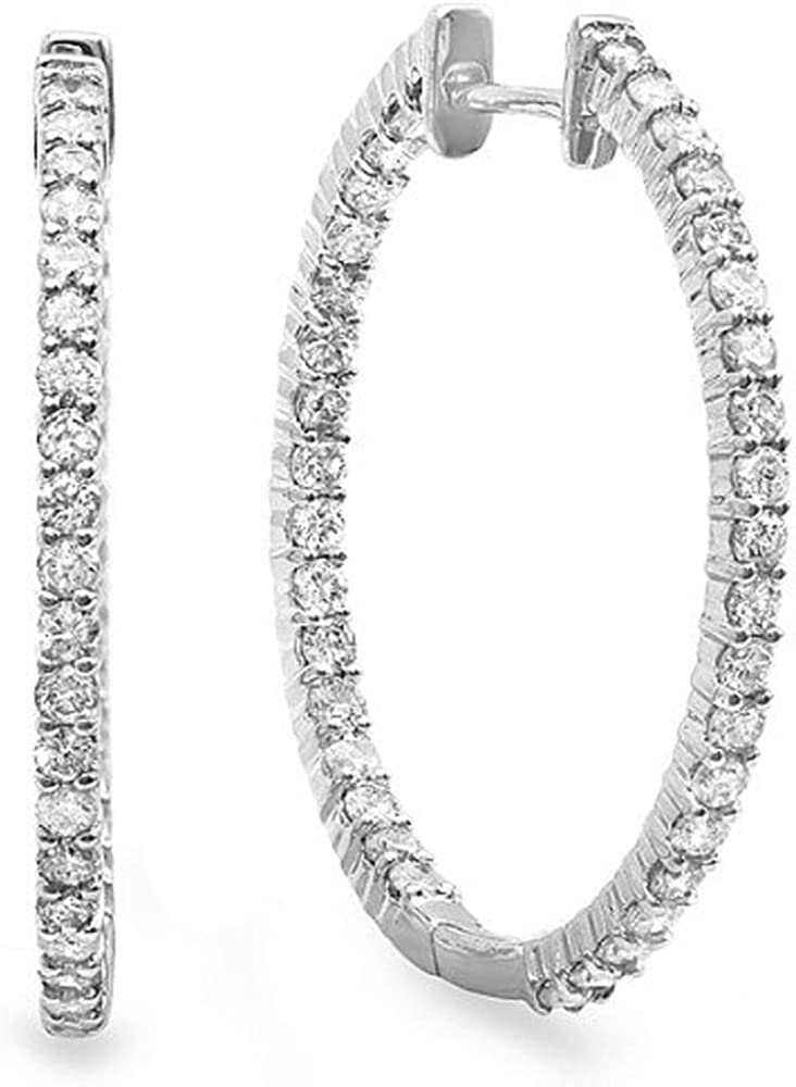 Dazzlingrock Collection 0.90 Free Limited time trial price Shipping Cheap Bargain Gift Carat ctw 14K Round Gold Diamond