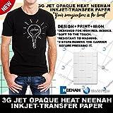 INKJET TRANSFER PAPER FOR DARK FABRIC: NEENAH'3G JET OPAQUE' (11' x 17') 25Pk :)