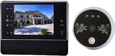 "3.5"" LCD Digital Peephole Door Viewer Camera Night Vision Wide Angle + Video Record + Photo Shooting Door Viewer Doorbell Sec"