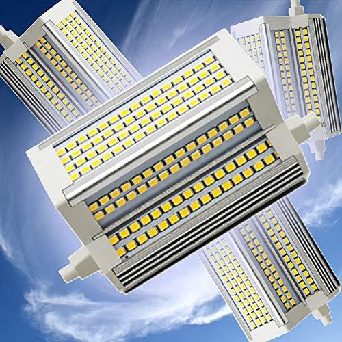R7S Bombilla LED 118mm 50W Lámpara de Reflector Regulable Doble End J118 Bulb 3000-6000K Equivalente 500W lámpara halógena 220 Grados 110V-240V R7S Bulbos LED,6000k