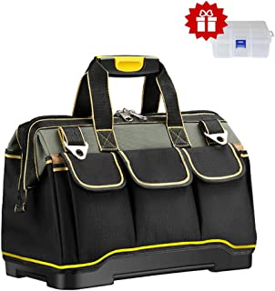 442c35e44df4 Tool Bag Upgraded with PVC Base Tool Storage Bag Multi-Functional Large  Capacity Wearproof