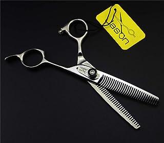 Professionele Tooth Schaar 6,0 Inch Japan 9CR RVS Set, Lichtgewicht En Hoge Kwaliteit Met Haarscherpe Kapper Schaar Voor S...