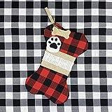 Calcetín de Navidad de arpillera de la Navidad de la chimenea de la decoración del calcetín de Navidad de la decoración de la bolsa de regalo