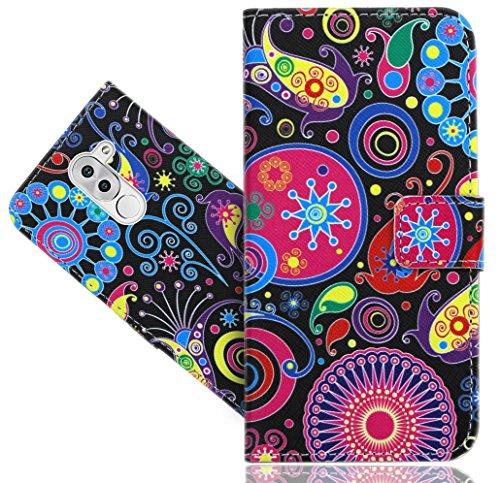 Huawei Honor 6X Handy Tasche, FoneExpert® Wallet Hülle Flip Cover Hüllen Etui Hülle Ledertasche Lederhülle Schutzhülle Für Huawei Honor 6X