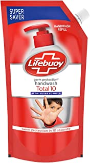 Lifebuoy Total 10 Activ Silver Germ Protection Handwash Refill, 750 ml