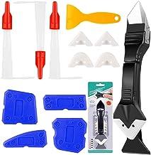 13 Stks Sealant Afwerking Tool Set, XCOZU Siliconen Remover Tool Grout Scraper Caulking Tool Kit/Mastiek Tool, 3 in 1 Sili...