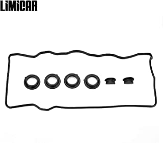 LIMICAR Valve Cover Gasket Set VC2005 Compatible with 1992-1997 Toyota Camry 1990-1999 Toyota Celica 1991-1995 Toyota MR2 2.0L 2.2L 3SFE 5SFE