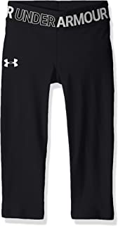 Girls' HeatGear Armour Capris