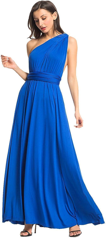 Choies Women's Leopard Print V Neck Tie Waist Side Split Empire Maxi Dress