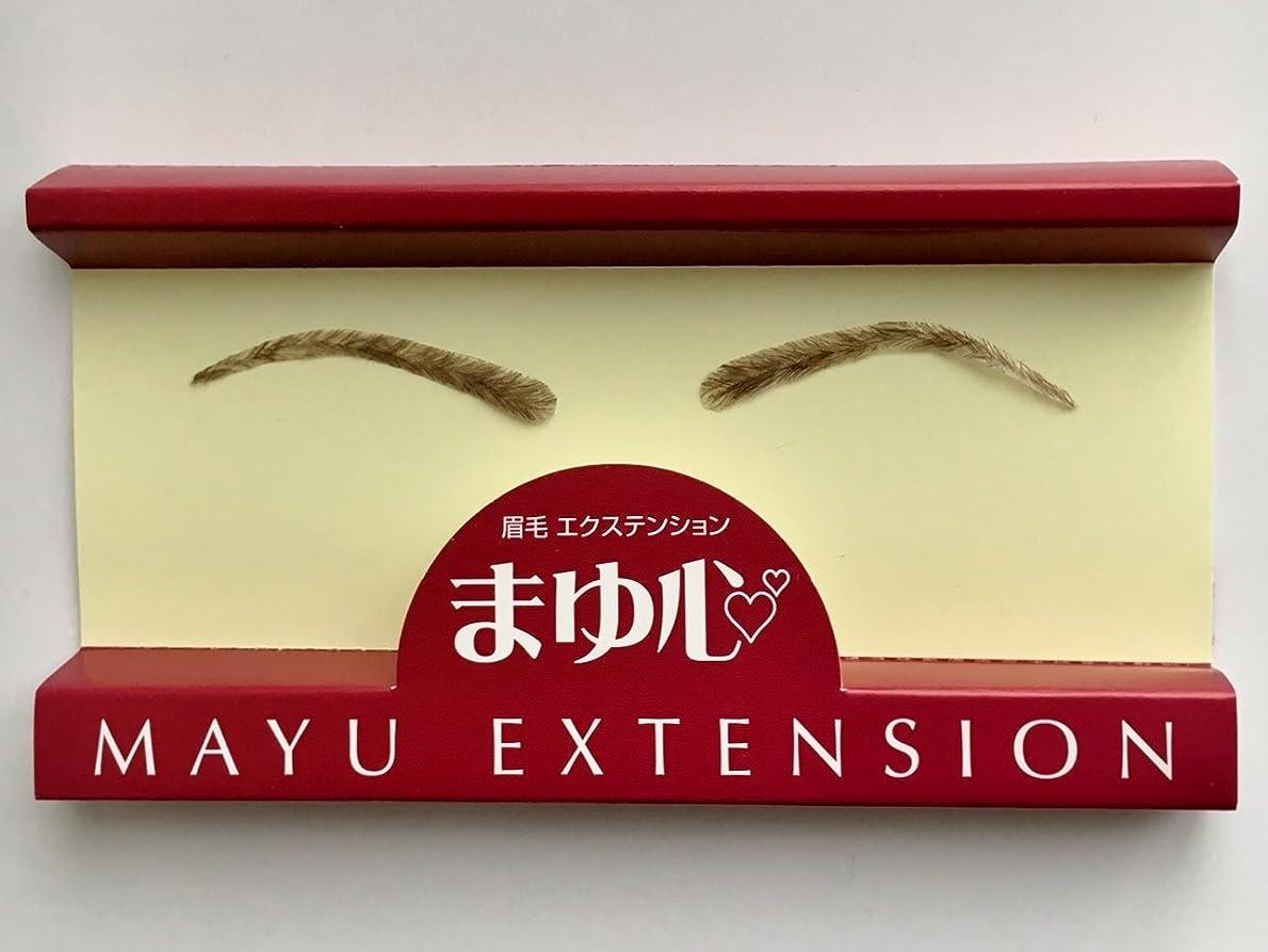 魅了する酸度いつ眉毛エクステンション まゆ心N(まゆごころN) MA-6 (付け眉毛?貼る眉毛) 全2色 (ダークブラウン)