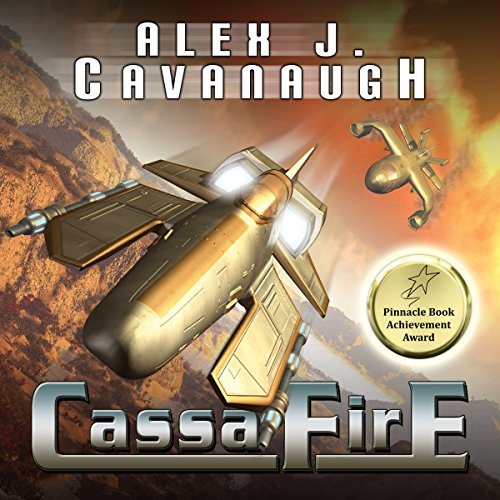 CassaFire audiobook cover art