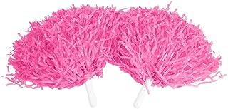 pink cheer poms