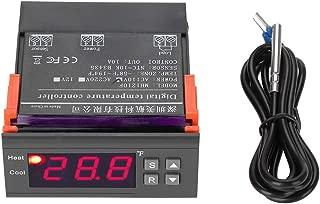 -58~99℃ Alarm MH1210F Digital Intelligent Thermostat LED Temperature Controller with Sensor AC110V