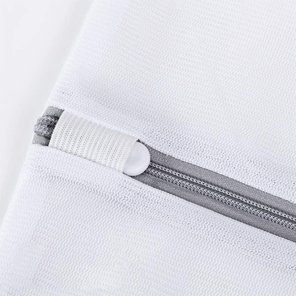 Delaspe Lot de 5 sacs /à linge en maille filet Sacs de lavage r/ésistants pour chemisier collants v/êtements de b/éb/é soutien-gorge