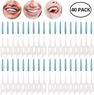 seacan 歯間ブラシ 極細タイプ 歯周プロケア ソフトピック 40本