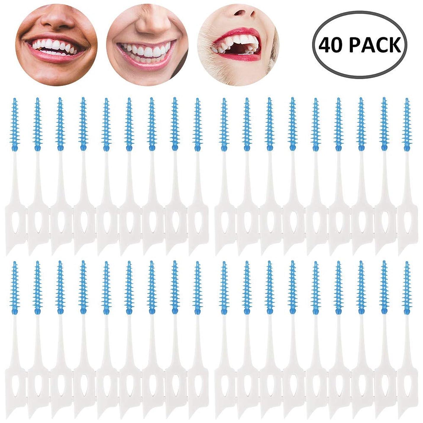 受け入れた論理的に悲しいseacan 歯間ブラシ 極細タイプ 歯周プロケア ソフトピック 40本