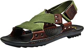 Beach Sandals for Men - POHOK Beach Men's Summer Fashion Casual Tide Shoes Non-slip Slippers Comfortable Sandals
