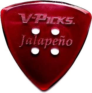 V-PICKS Jalepeno Guitar & Mandolin Pick
