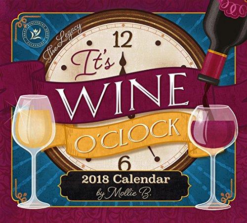 Legacy Publishing Group 2018 12-Month Wall Calendar, Wine Calendar