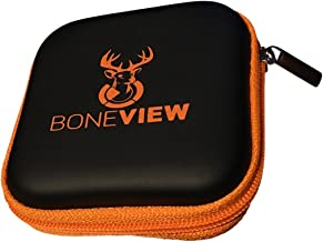 BoneView Protective Storage Case, Pocket Size Weather Resistant Shell and Zipper to Safely Store Your Deer Hunting and Scouting Accessories