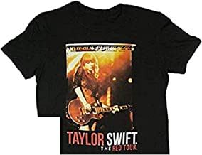 Taylor Swift Black Shorts Tour Tee T-Shirt Youth, Small, Medium, Large