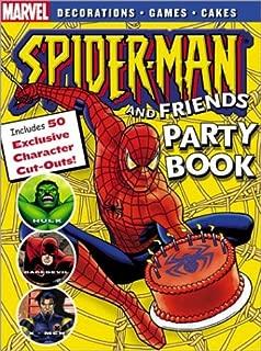 Spider-Man Party Book (Spider-Man Graphic Novels (Marvel Paperback))