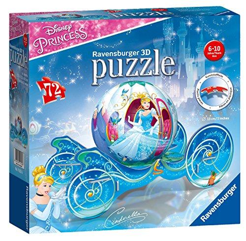 Ravensburger 11823 Cinderella Kutsche 3D-Puzzle