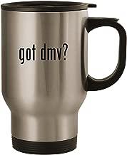 got dmv? - Stainless Steel 14oz Road Ready Travel Mug, Silver