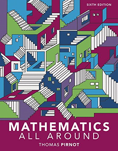 MyLab Math with Pearson eText -- 24 Month Standalone Access Card -- for Mathematics All Around (6th Edition)