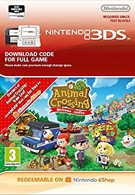 Animal Crossing: New Leaf - Welcome amiibo [3DS Download Code]