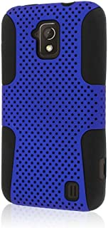 Empire Mpero Fusion M Series Protective Case for ZTE Solar Z795G - Retail Packaging - Blue