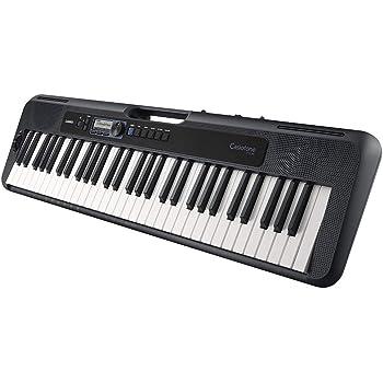 Casio CT-S300 Keyboard mit 61 anschlagdynamischen Standardtasten und Begleitautomatik