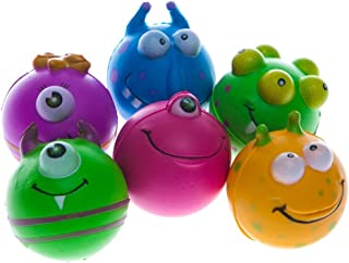 Monster Face Stress Balls (Set of 12)