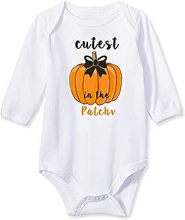 Goodstoworld Baby Boys Girls Long Sleeve Rompers Bodysuit Funny Slogan Cotton Jumpsuit 0-12 Months