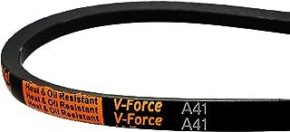 MVP Industrial A41/4L430 V-Force Premium V-Belt, 1/2