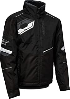 Castle X Platform G6 Sport Series Mens Snowmobile Jacket - Black - X-Large