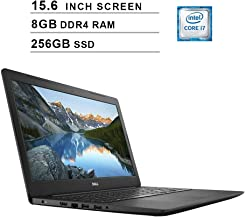 Dell 2019 Newest Inspiron 15 5000 15.6 Inch FHD 1080P Laptop (Intel Core i7-7500U up to 3.5 GHz, 8GB RAM, 256GB PCIe SSD, Intel HD 620, WiFi, Bluetooth, HDMI, Windows 10 Home)