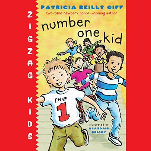 Number One Kid audiobook cover art