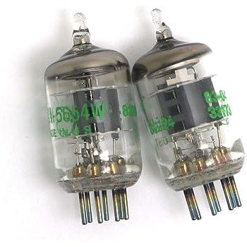 WINGONEER 2本7ピン5654W真空管 - 6AK5 / 6J1 / 6J1P / EF95用アップグレード