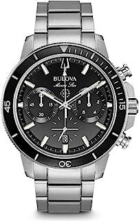 Bulova - Reloj Cronógrafo para Hombre de Cuarzo con Correa en Acero Inoxidable 96B272