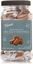 Tara's All Natural Handcrafted Gourmet Sea Salt Caramel: Small Batch, Kettle Cooked, Creamy & Individually Wrapped - 20 Ounce