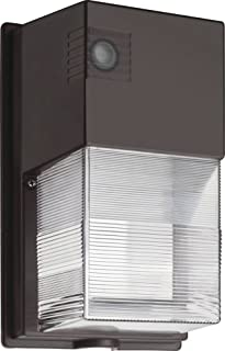 Lithonia Lighting P1 50K MVOLT PE DDB M4 TWS LED Wall Pack, 5000K, 120-277V, Photocell, Dark Bronze, Daylight