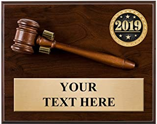 Best gavel plaques engraved Reviews