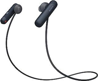 Sony WI-SP500 Auriculares deportivos inalámbricos in-ear Bluetooth, negro (versión internacional)