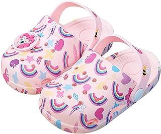 SiegenPro My Little Pony Baby Girls Slippers Girls Slide Sandals Non-Slip Slippers Baby Girls Shoes Kid Girls Shower Pool ...