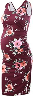 Liu & Qu Women's Maternity Sleeveless Tank Dresses Side...