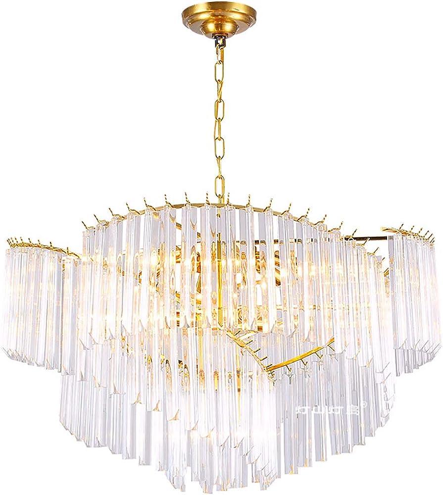 Hhrong luce k9 lampadario in cristallo di cristallo HHRONG002325