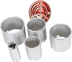 122178 Juego de sierra de taladro de tungsteno Broca de núcleo Kit de cortador de cerámica para azulejos de pared 33-83 mm